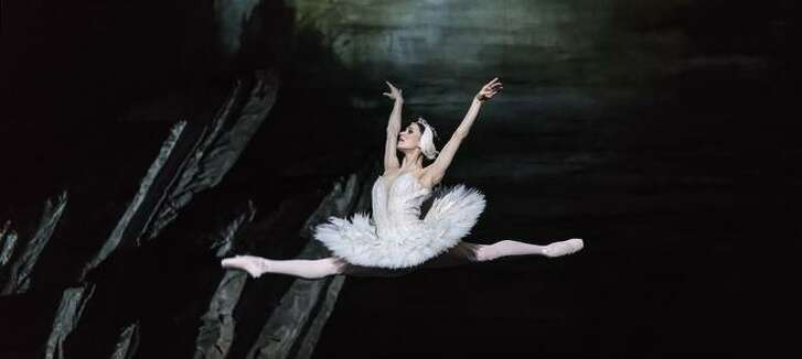 "Marianela Núñez as Odette in the Royal Ballet's production of ""Swan Lake."""
