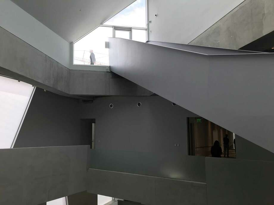 when it rained it poured wednesday inside houston s new glassell