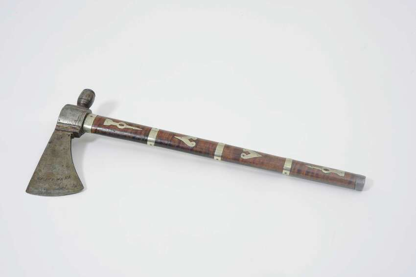 An 18th-century Native American tomahawk given to the Seneca leader Cornplanter by President George Washington in 1792 will go on display at the State Museum in summer 2018.