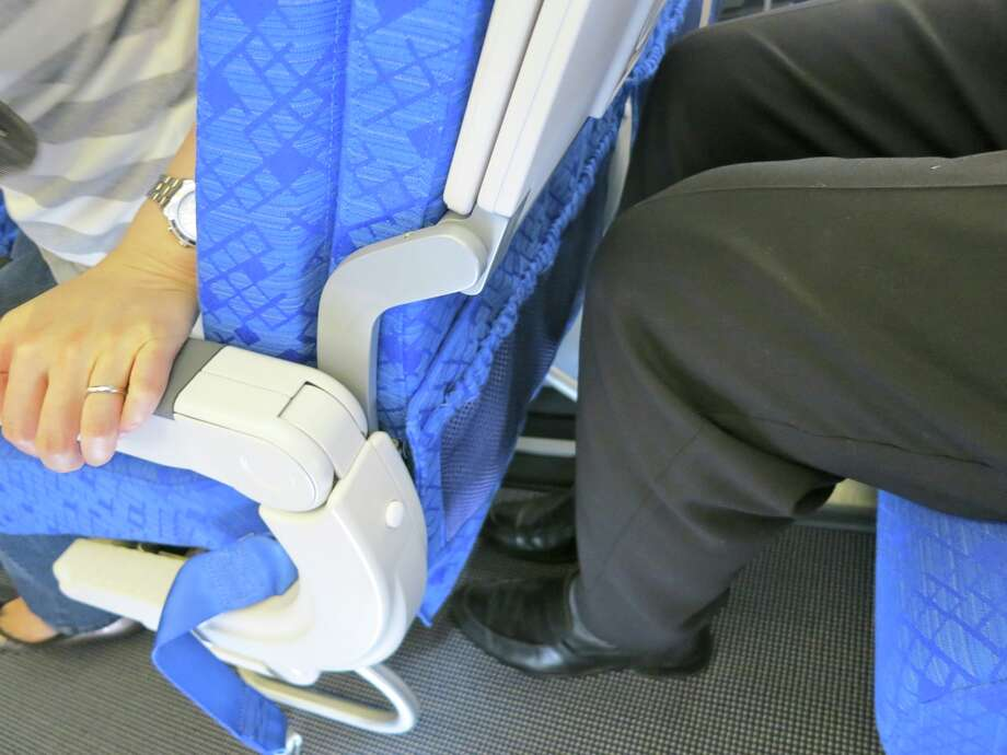 Legroom (pitch) and seat width have shrunk in recent years. (Chris McGinnis) Photo: Chris McGinnis