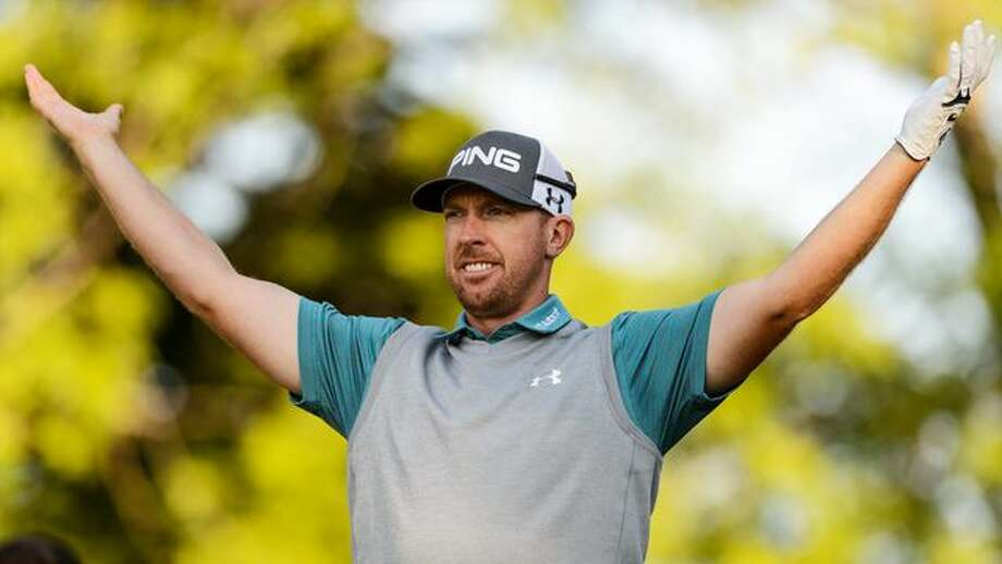 PGA golfer Hunter Mahan is selling his lakefront home near Dallas. List price: $3.8 million. Photo: Minas Panagiotakis/Getty Images