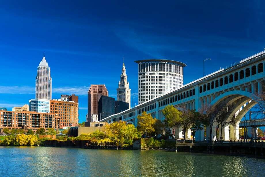 1.ClevelandOhio Photo: Davel5957/Getty Images/iStockphoto