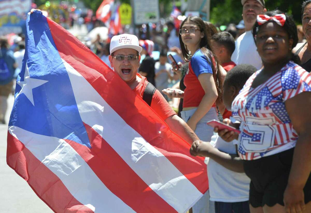 Scenes from the 2017 Puerto Rican Parade of Fairfield County. This year's parade, marking the parade's 25 th anniversary, kicks off at 11am this Sunday in Bridgeport, followed by the festival and concert in Seaside Park.