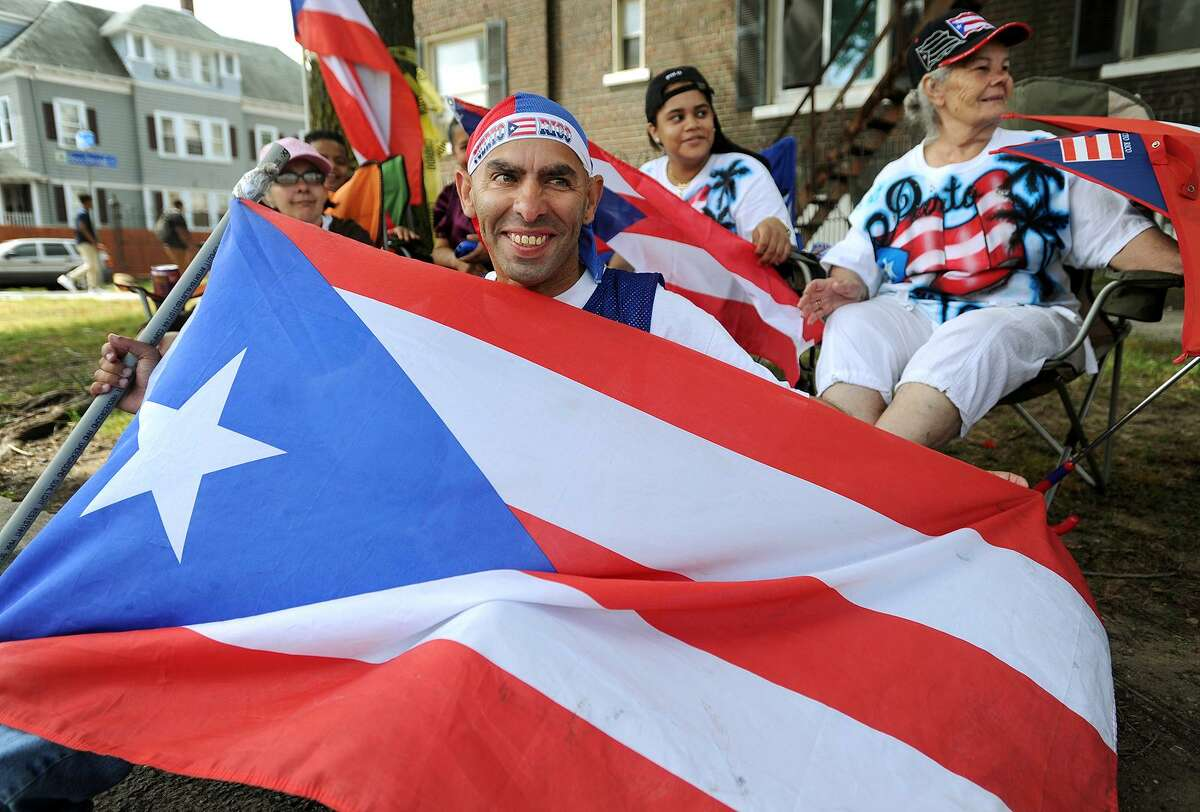Scenes from the 2016 Puerto Rican Parade of Fairfield County. This year's parade, marking the parade's 25 th anniversary, kicks off at 11am this Sunday in Bridgeport, followed by the festival and concert in Seaside Park.