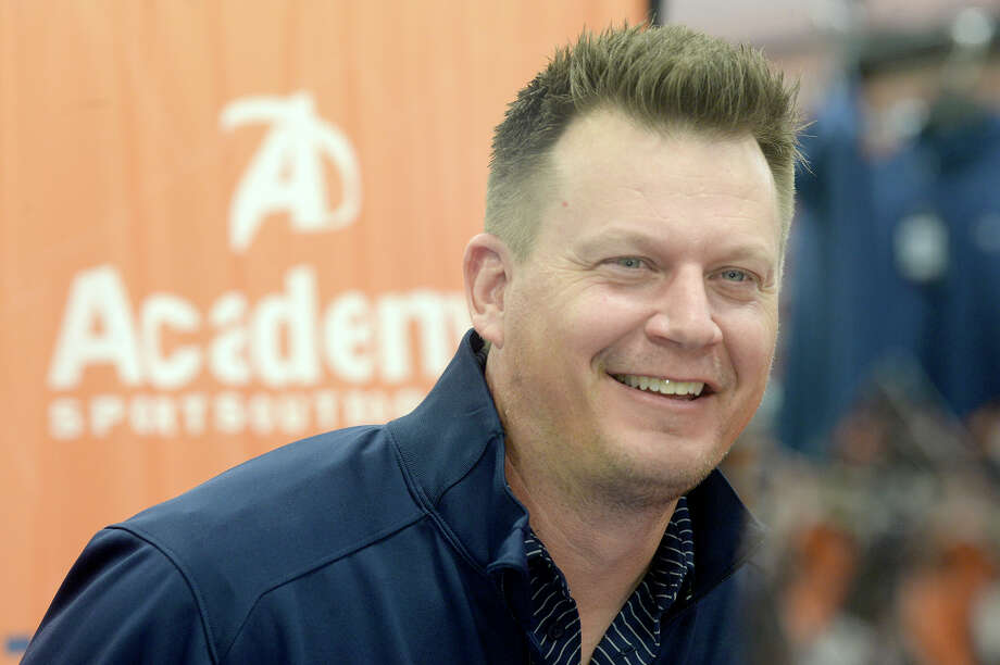 The number of Twitter missives Astros TV analyst Geoff Blum gets is reflective of the team's growing ratings on AT&T SportsNet Southwest. Photo: Kim Brent, Beaumont Enterprise / BEN