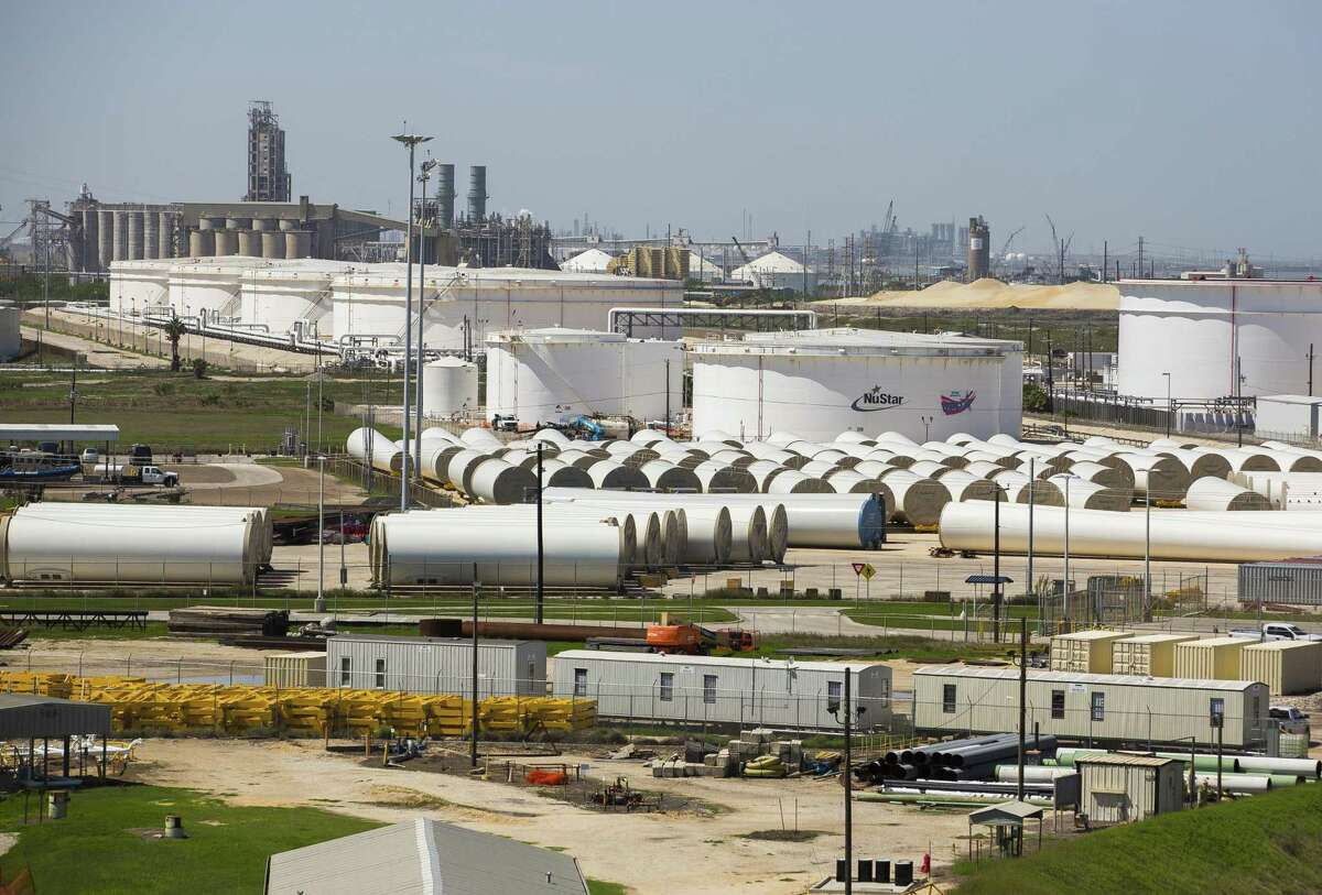 Research firm IHS Markit says continued growth in U.S. production of crude oil and natural gas liquids will push the country toward becoming a net exporter of petroleum, which the firm says includes refined products like gasoline. The Port of Corpus Christi (pictured) is a hub of U.S. oil exports.