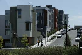 New housing in San Francisco, Calif. According to new figures from HUD, a family of four in the San Francisco metro area can make as much as $117,400 and still qualify for federal assistance.
