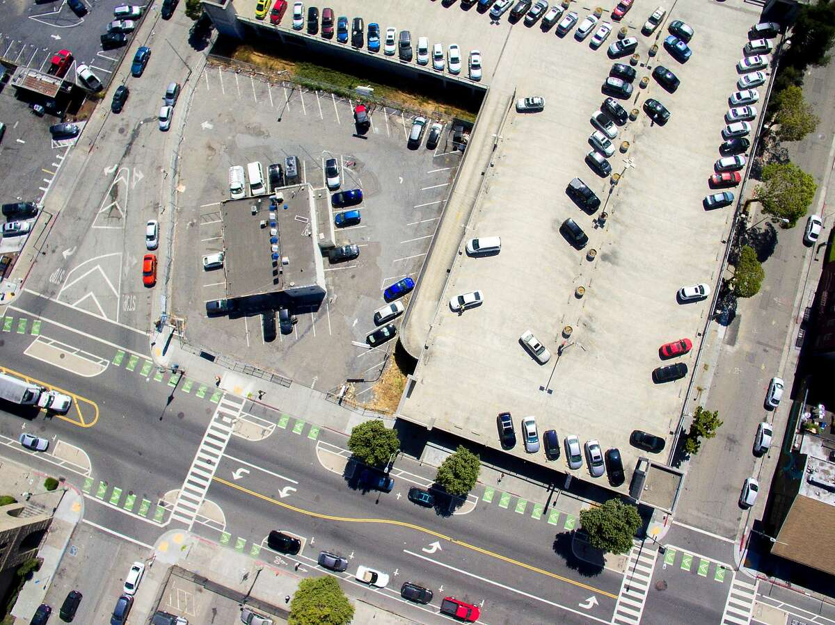 The Telegraph Plaza Public Parking located at 2100 Telegraph Ave., Thursday, July 5, 2018 in Oakland, Calif.
