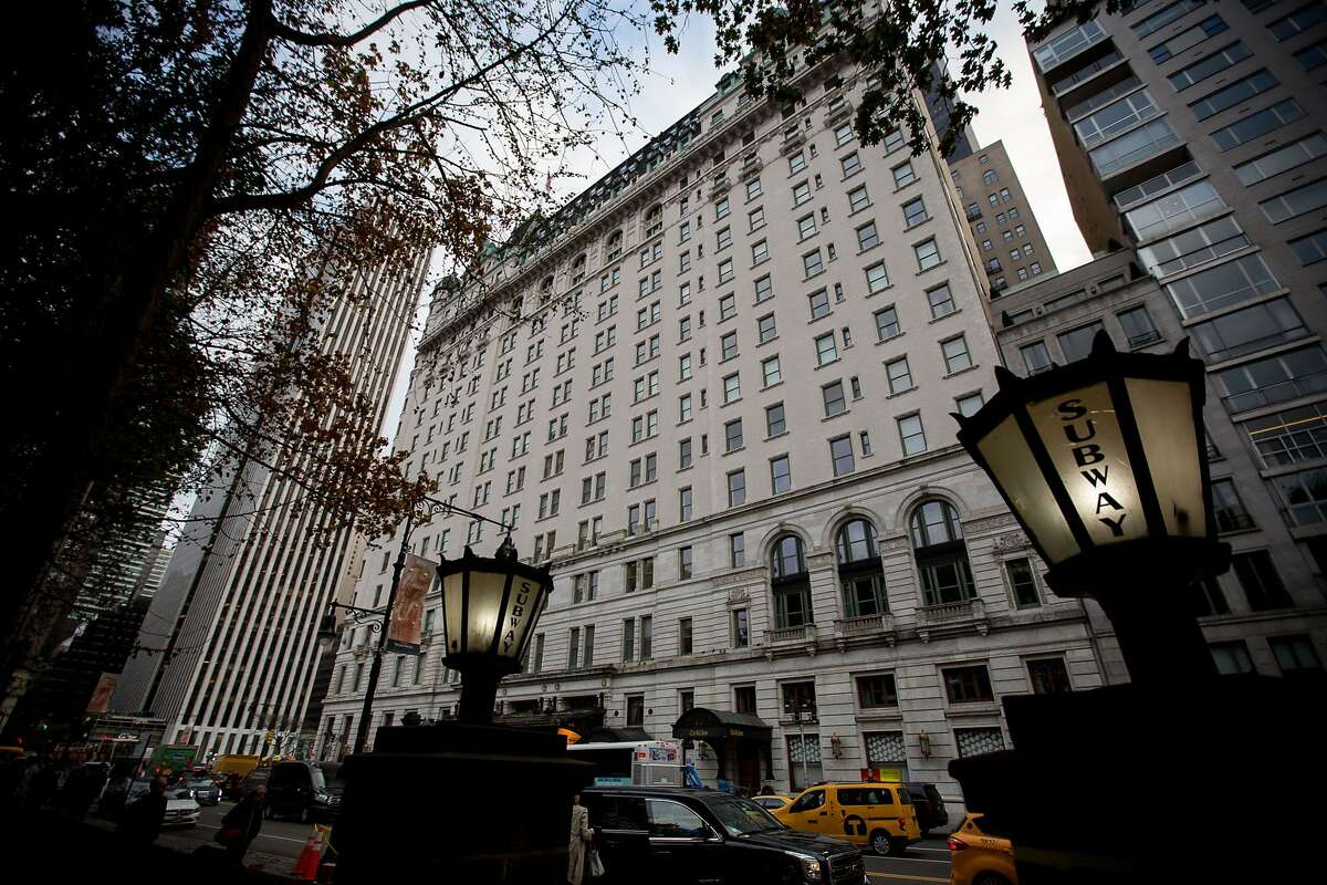 The Plaza Hotel in New York on Nov. 13, 2017. MUST CREDIT: Bloomberg photo by Michael Nagle.
