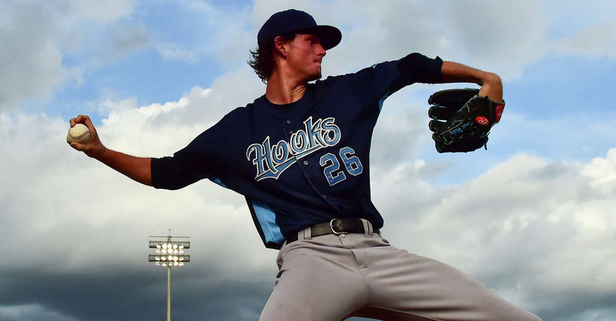 Forrest Whitley, RHP 20 years old The Astros' first-round pick in 2016 out of San Antonio Alamo Heights High School is ranked as the 10th-best prospect in all of baseball by Baseball America. He's in Class AA Corpus Christi with 2019 as a target for his big league debut.