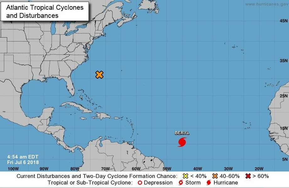 Hurricane Beryl Becomes First Of 2018 Atlantic Season