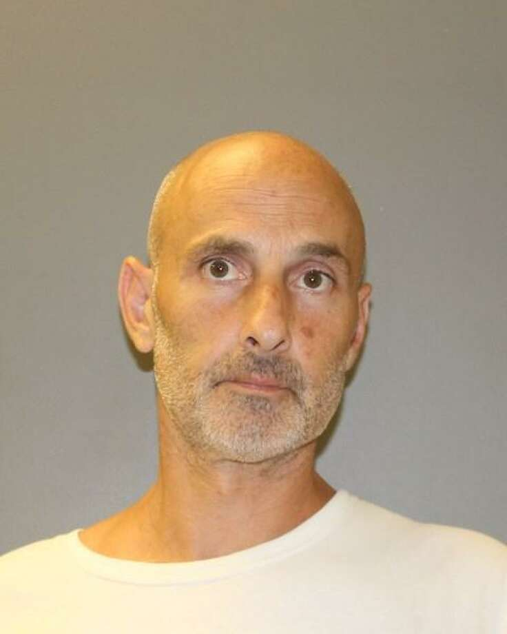 Michael Girolomoni, 47, of East Haven, was arrested Tuesday for allegedly stealing $75 worth of energy drinks from a supermarket in Hamden. Photo: By Newsroom Staff / Photo Courtesy Of Hamden Police