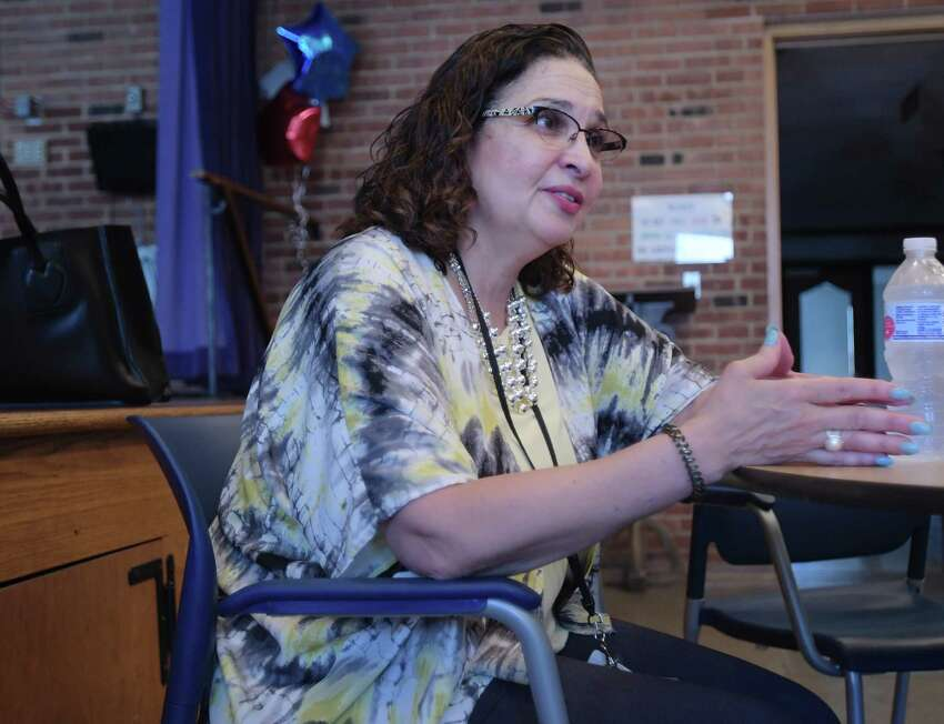 Micky Jimenez, regional director of Capital District Camino Nuevo, talks about the work being done at the methadone clinic on Tuesday, June 19, 2018, in Albany, N.Y. (Paul Buckowski/Times Union)
