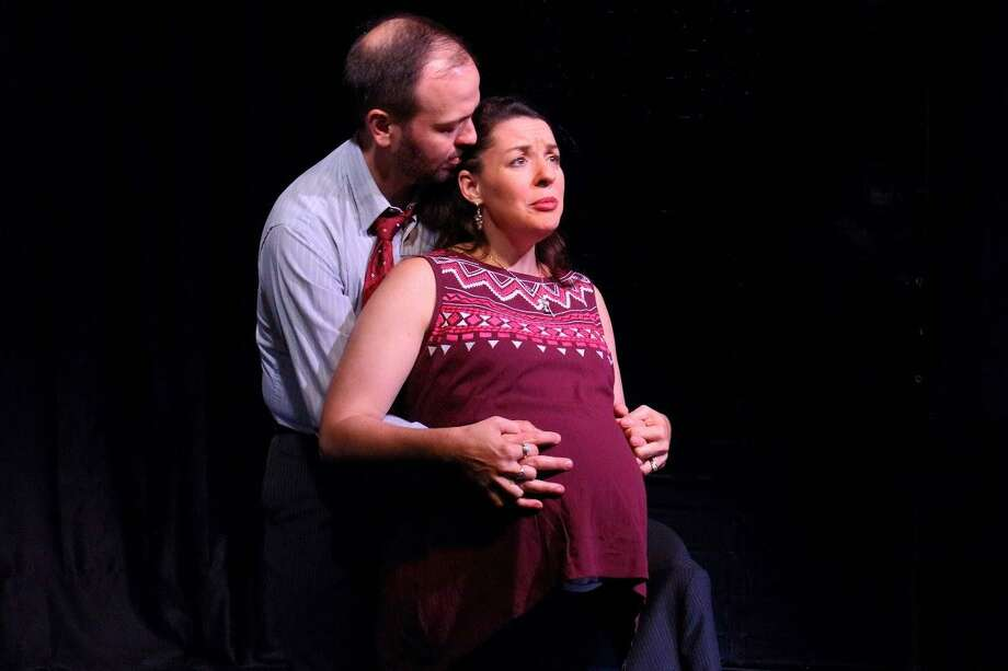 "A scene from last summer's Thrown Stone production of ""Milk."" Photo: Chuck Jennes / Contributed Photo"