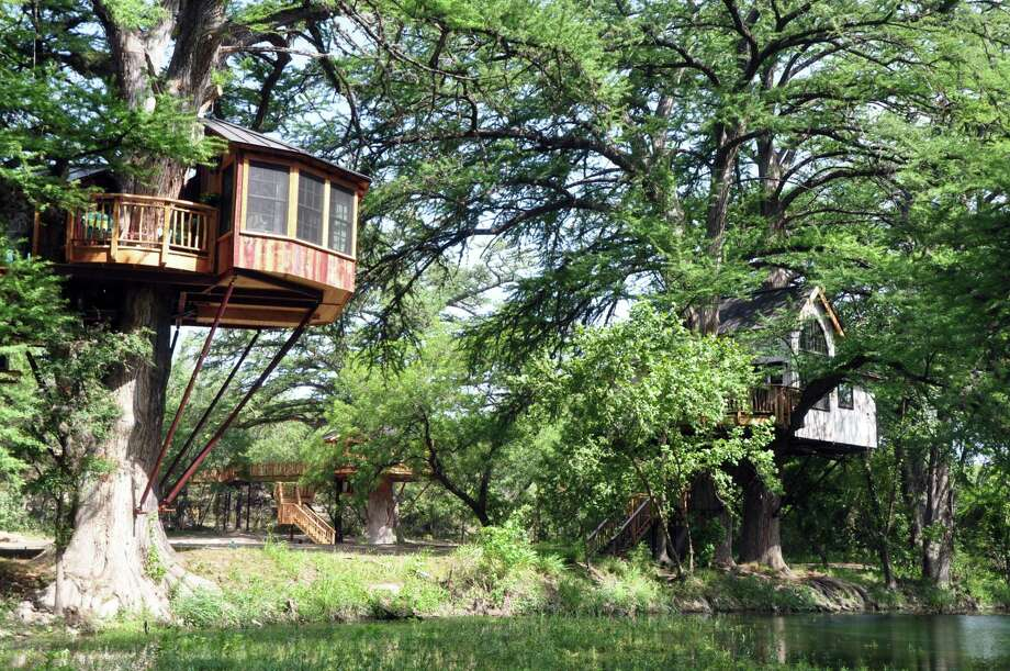 Treehouse Utopia B B Offers The Chance To Sleep In The Texas