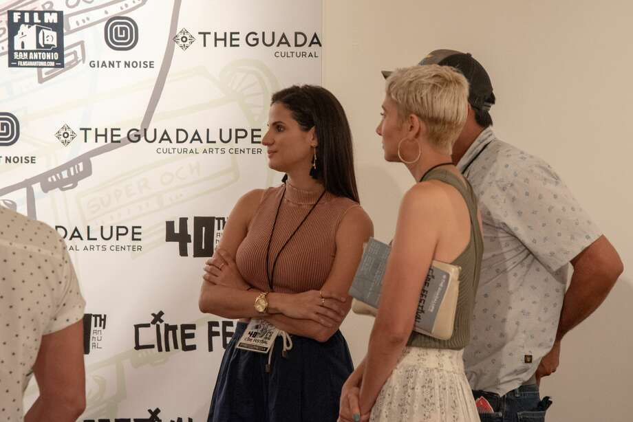 The Guadalupe Cultural Arts Center opened its doors Thursday for the opening night of CineFestival. This year marks the 40th anniversary of CineFestival. Photo: Cassie Stricker / San Antonio Express-News