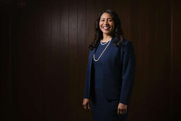 London Breed, San Francisco mayoral candidate, and President of the San Francisco Board of Supervisors, photographed on location at the San Francisco Chronicle offices on March 29th, 2018.
