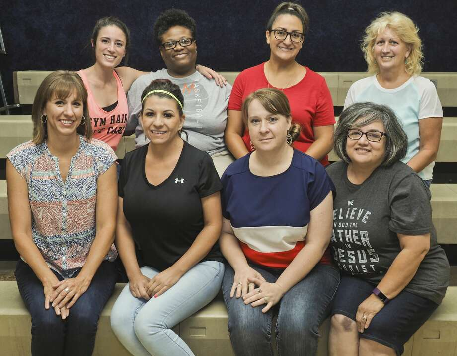 Members of the summer teaching staff at Greater Ideal summer classes, back left; Rina Price, Dacia Mutcherson, Angelica Molina and Pam Brower, front left; Lora Pipkin, Jennifer Nunez, Ginger Whitson and Rosalinda Lares. 07/06/18 Tim Fischer/Reporter-Telegram Photo: Tim Fischer/Midland Reporter-Telegram