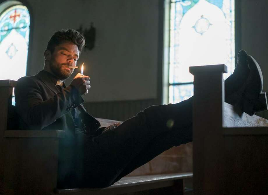 "Dominic Cooper stars as Jesse Custer in AMC's ""Preacher."" Photo: Lewis Jacobs/Sony Pictures Television/AMC / © AMC Networks Entertainment LLC. and Sony Pictures Television Inc. All RIghts Reserved."