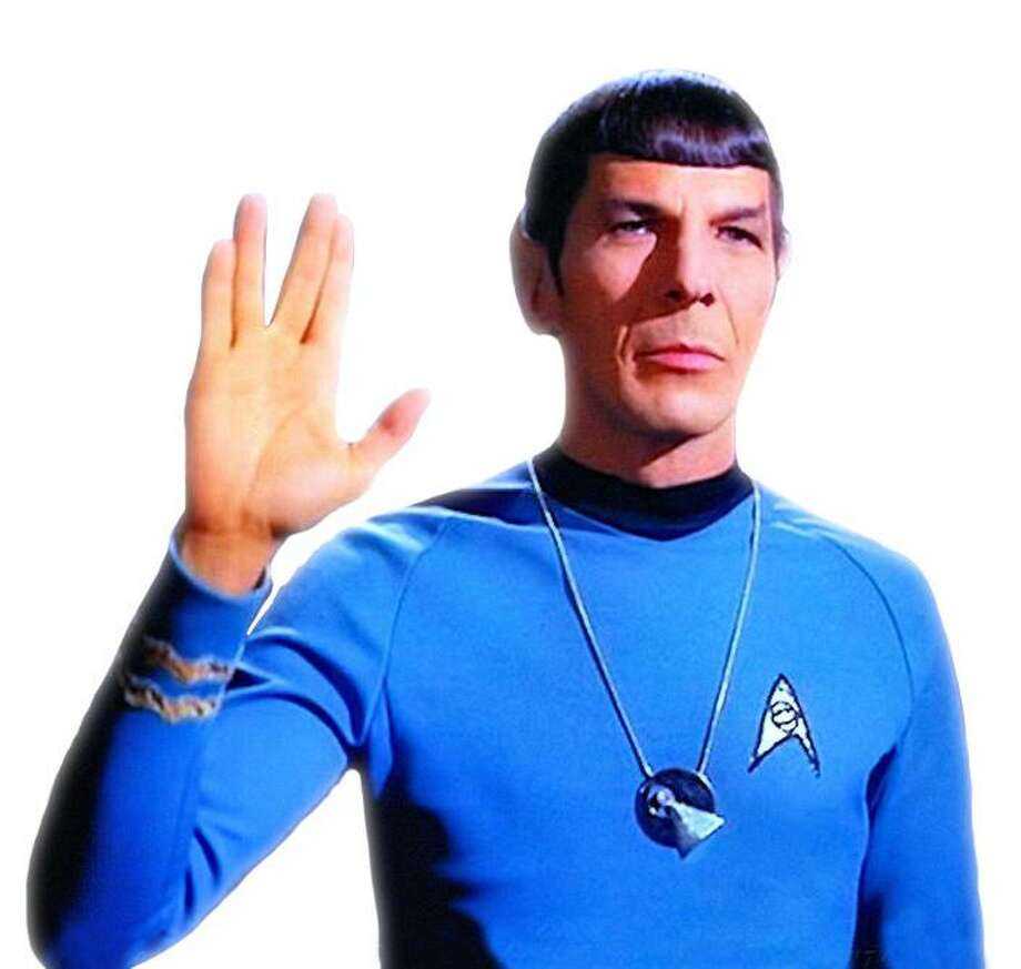 Be like Mr. Spock. Be logical about the choices you make when it comes to diet and exercise. Photo: Handout / ONLINE_YES