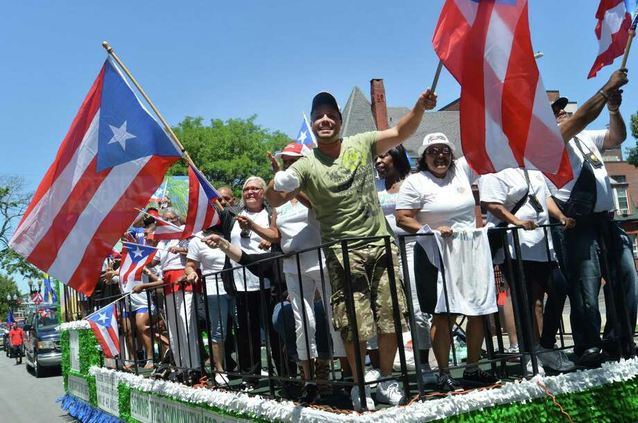 The 2017 edition of the Puerto Rican Parade of Fairfield County, which is to take place in Bridgeport Sunday, July 8, 8. Photo: Alex Von Kleydorff / Hearst Connecticut Media / Norwalk Hour