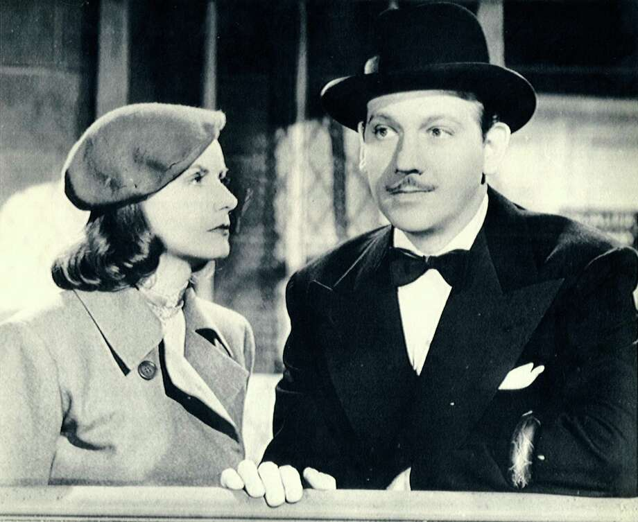 "Greta Garbo and Melvyn Douglas star in ""Ninotchka."" Photo: MGM 1939 / chron"