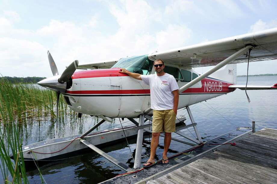 Evan Frostman is a pilot for Jones Brothers Air and Seaplane Adventures in the central Florida city of Tavares. (Nancy Moreland/Chicago Tribune/TNS) Photo: Nancy Moreland / Chicago Tribune