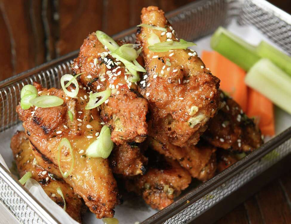 Korean wings at City Squire Ale House on Thursday, June 28, 2018 in Schenectady, N.Y. (Lori Van Buren/Times Union)