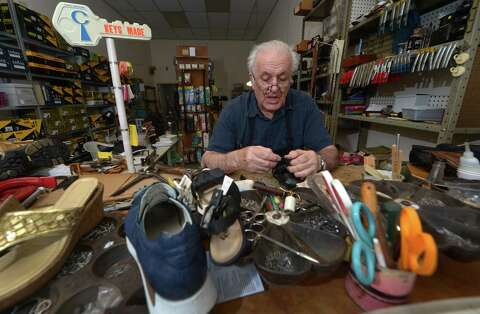 fadff43496382 89-year-old Norwalk shoe repair shop keeps getting the boot - The Hour