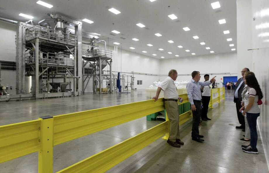 Galdisa USA held a grand opening for its new, 47,000-square-foot peanut manufacturing facility in Conroe Park North Industrial Park on Friday, July 6, 2018 on Pollock Drive in Conroe. The plant will employ 25 people in the companys first plant in the United States. Photo: Jason Fochtman, Staff Photographer / Houston Chronicle / © 2018 Houston Chronicle