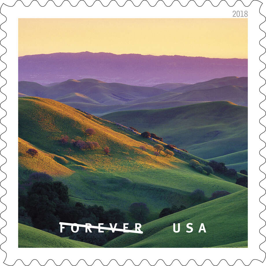 "Photographer Gary Crabbe contributed seven photos to the USPS' new stamp line, ""O Beautiful."" This photo was taken in Livermore. Photo: Courtesy Gary Crabbe"