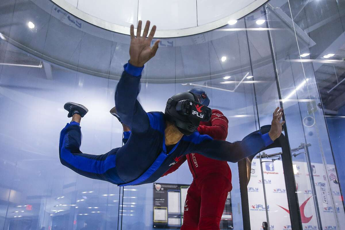 Soar above the Swiss Alps without leaving San Antonio. At iFly, you can strap on a virtual reality headset, step into a wind tunnel, and experience a simulated skydive or BASE jump over the Alps, Hawaii, or Dubai. iFly (15915 W Interstate 10) opens at noon on weekdays and 10 a.m. on the weekend.