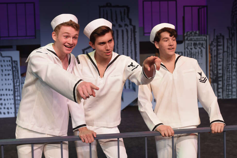 "Preview for Pickwick Players production of ""On The Town"" photographed during rehearsal July 5, 2017, at Midland Community Theater. James Durbin/Reporter-Telegram Photo: James Durbin / ? 2018 Midland Reporter-Telegram. All Rights Reserved."