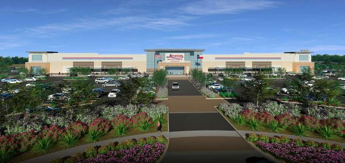 American Furniture Warehouse anticipates completing and opening its warehouse/store in Katy in the first quarter of 2020.