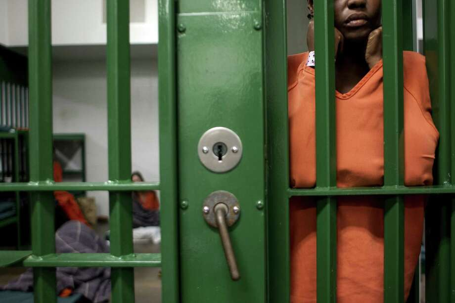 There have been five apparent suicides at the Harris County Jail in just under two years, a rate that officials have repeatedly stressed is a lower than the national average. Photo: Johnny Hanson, Staff / Houston Chronicle / © 2013  Houston Chronicle
