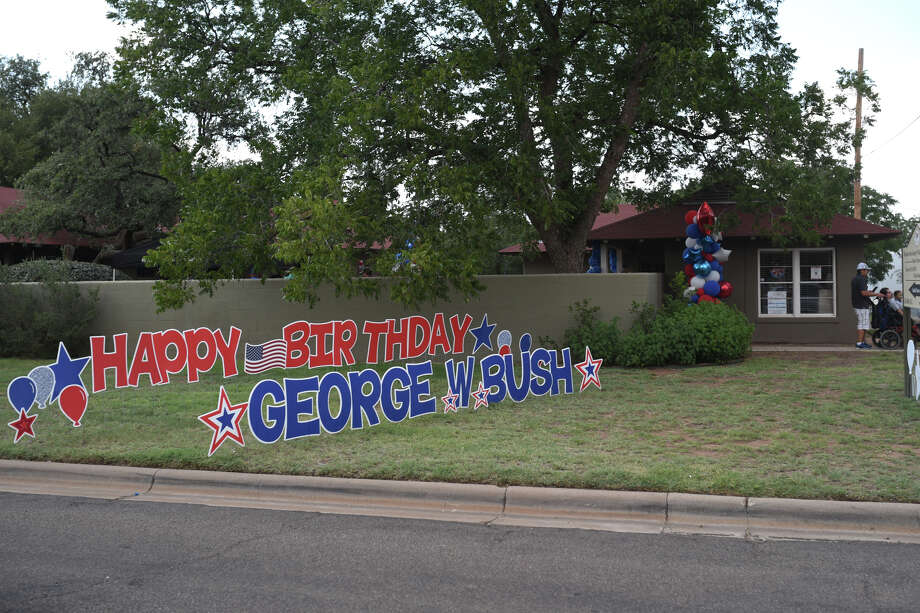 The historic site will host its second annual George W. Bush Birthday Bash with a party for the whole community. Photo: James Durbin / ? 2018 Midland Reporter-Telegram. All Rights Reserved.