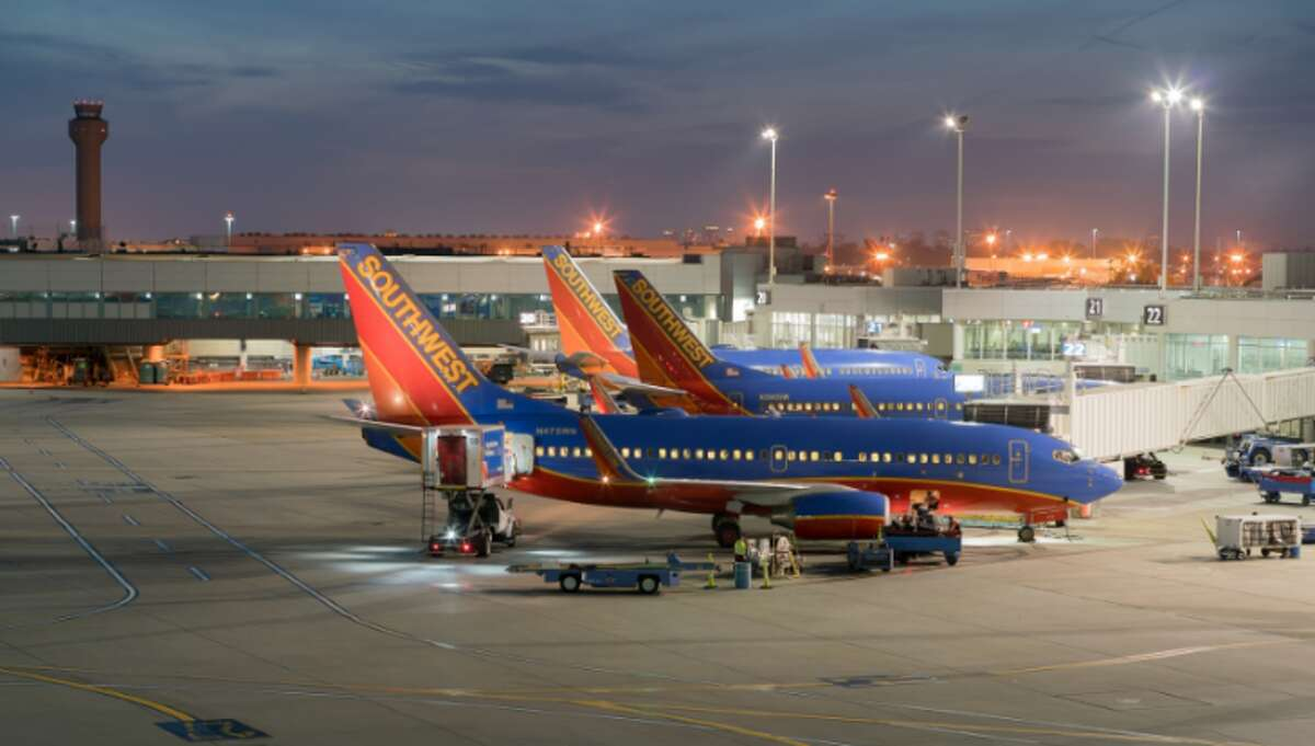 Southwest Airlines jets at Oakland International Airport (Photo: Port of Oakland)