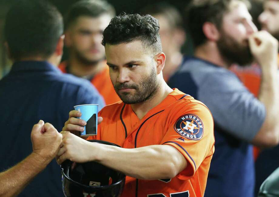 PHOTOS: Ranking every Astros' All-Star starter Jose Altuve is one just 13 Astros players to start an All-Star Game. We've pulled up the statistics for all those starters at the All-Star break and tried to rank them. Browse through the photos above for the best first-halves of Astros players elected to start an All-Star Game. Photo: Elizabeth Conley, Houston Chronicle / ©2018 Houston Chronicle