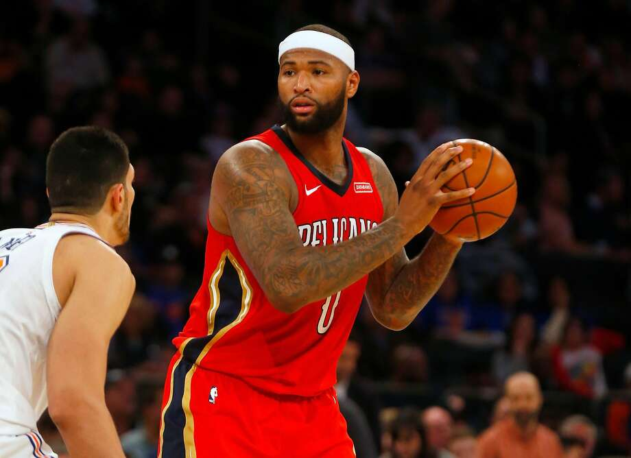 DeMarcus Cousins #0 of the New Orleans Pelicans in action against the New York Knicks at Madison Square Garden on January 14, 2018 in New York City. Photo: Jim McIsaac, Getty Images