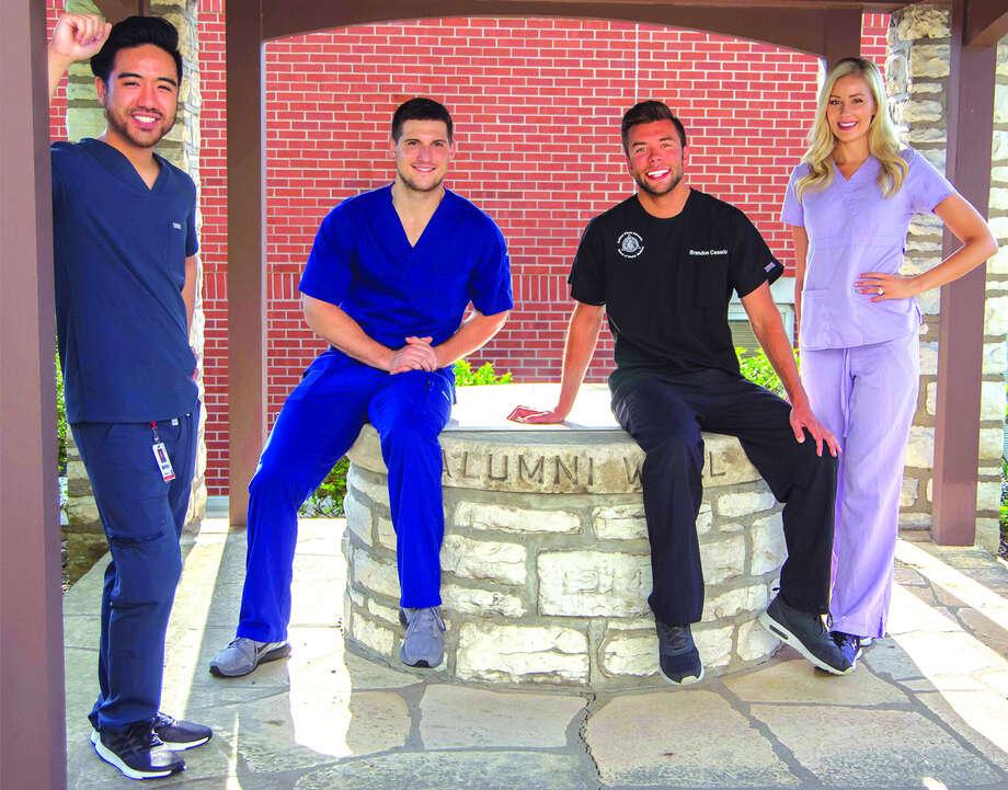 SIU SDM Dean's Scholars, from left: Jordan Ha, Tanner Brown, Brandon Cesario and Kelsie Vandergriff.
