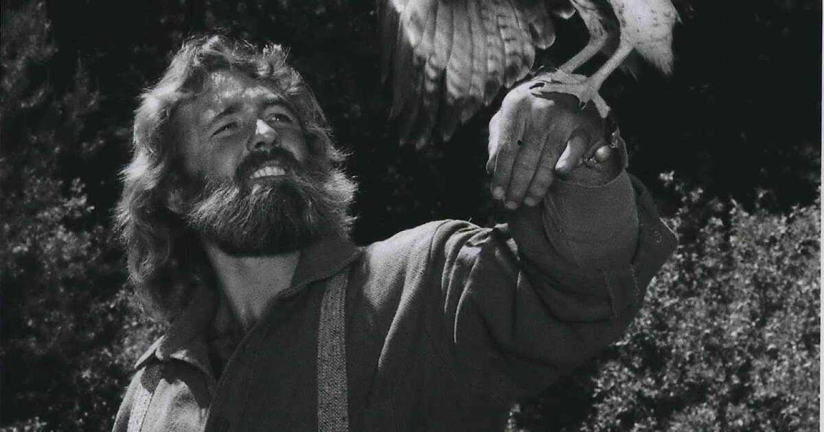 Dan Haggerty as Grizzly Adams in the 1970s TV show of the same name.
