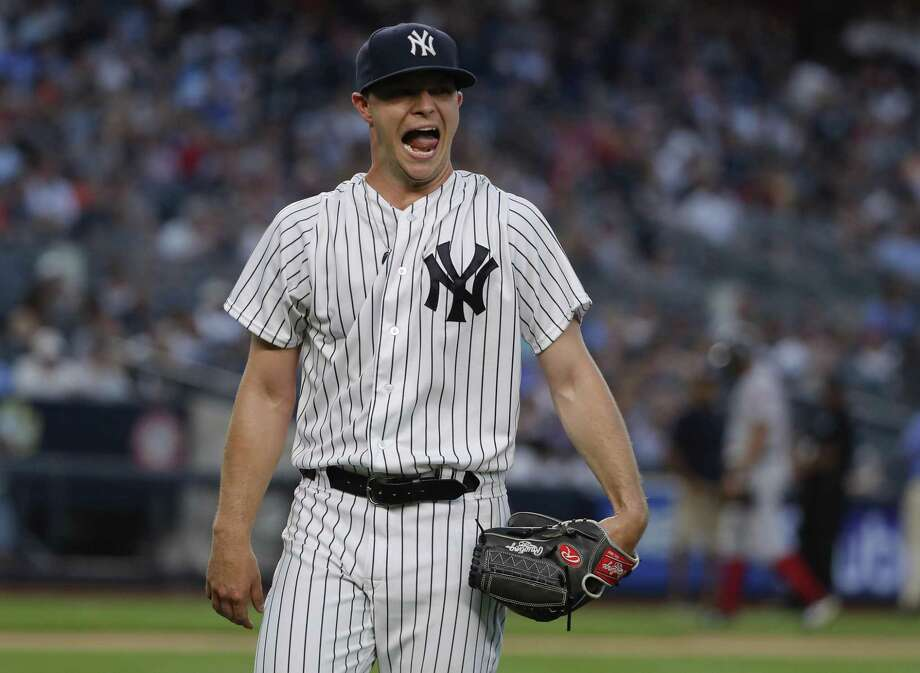 More than a third of the Yankees 29 losses this season have come in games Sonny Gray has started. Photo: Julie Jacobson / Associated Press / Copyright 2018. The Associated Press. All Rights Reserved.