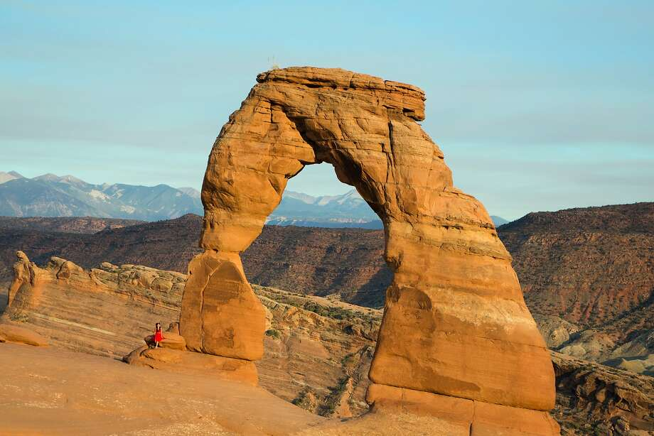 Delicate Arch in Arches National Park, Utah, June 19, 2018. (Beth Coller/The New York Times) Photo: BETH COLLER, NYT