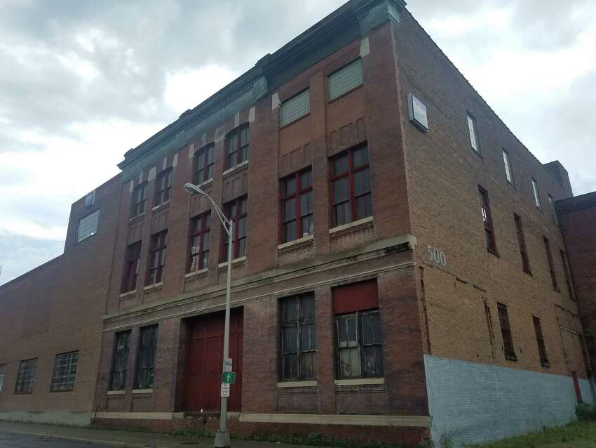 The Children's Museum of Science and Technology might move to 500 River Street in Troy as part of a planned redevelopment of the building in the district south of the Hoosick Street bridge. (Chris Churchill / Times Union)