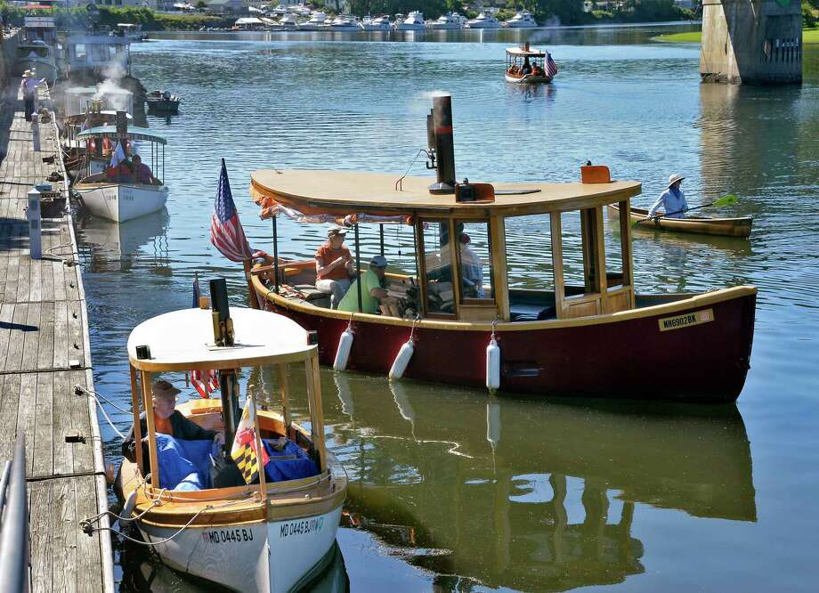 The Waterford Harbor Visitor Center hosts the 10th Annual Waterford Steamboat Meet Saturday July 7, 2018 in Waterford, NY.  (John Carl D'Annibale/Times Union) Photo: John Carl D'Annibale / 20044265A