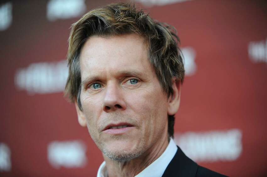 Actor Kevin Bacon Supporting:  Sen. Cory Booker (D-NJ) (Photo by Richard Shotwell/Invision/AP)