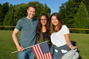 Darien's Independence Day fireworks were held July 7, 2018 at Darien High School. Were you SEEN?