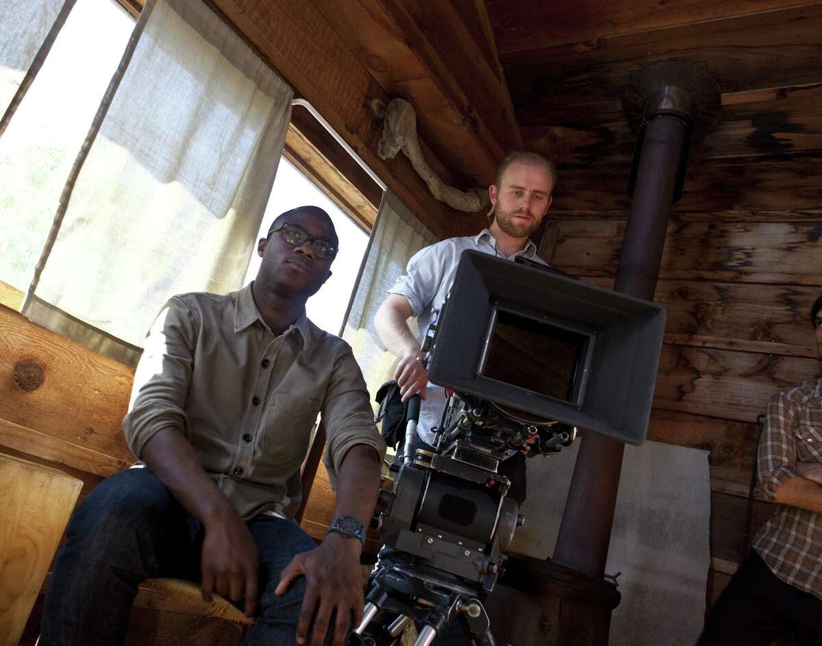 """Director Barry Jenkins films """"Remigration"""" in the Bay Area in 2011."""