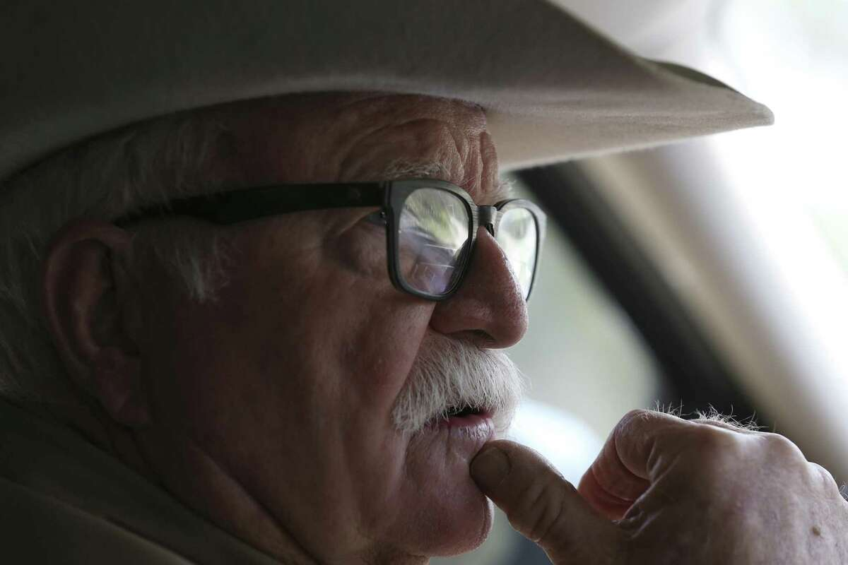 Brooks County rancher and veterinarian Michael Vickers is a supporter of border control.
