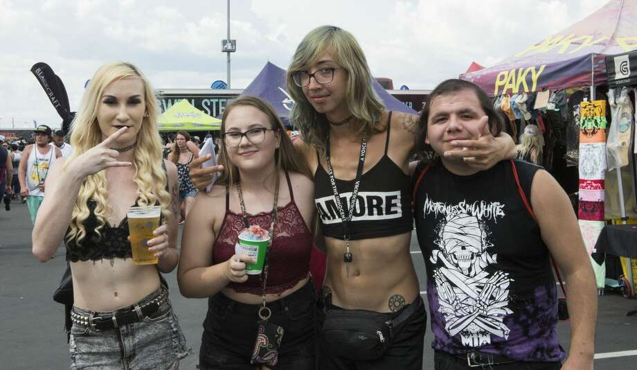 San Antonio punks came together one last time for Warped Tour on July 7, 2018. After 24 years, the famed pop-punk festival is ending. Photo: Kristen Alligood For MySA.com
